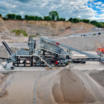 modular aggregate washing