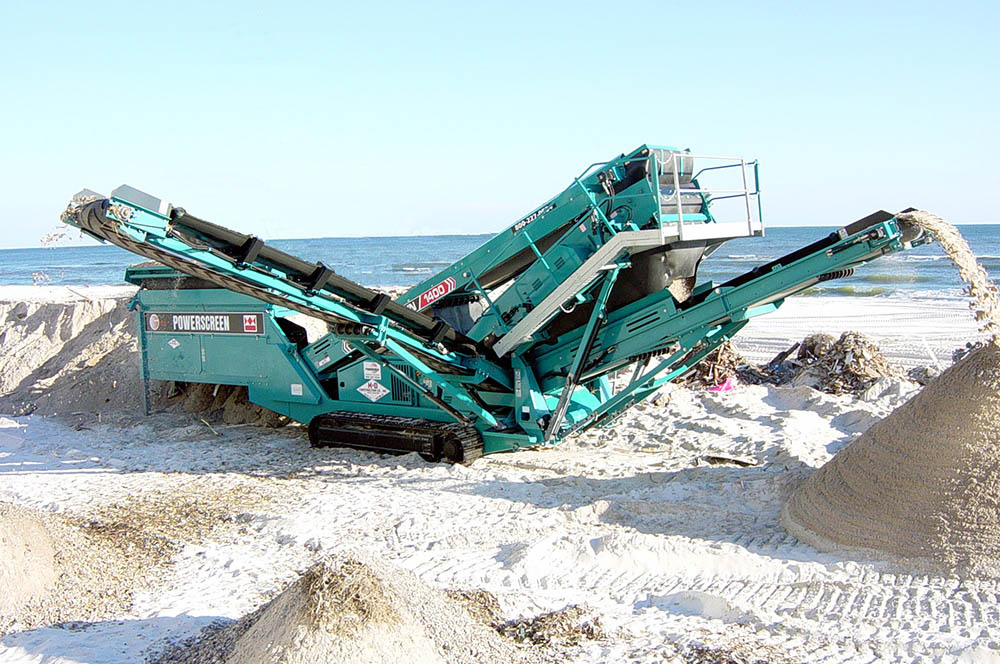 powerscreen chieftain 1400 operators manual