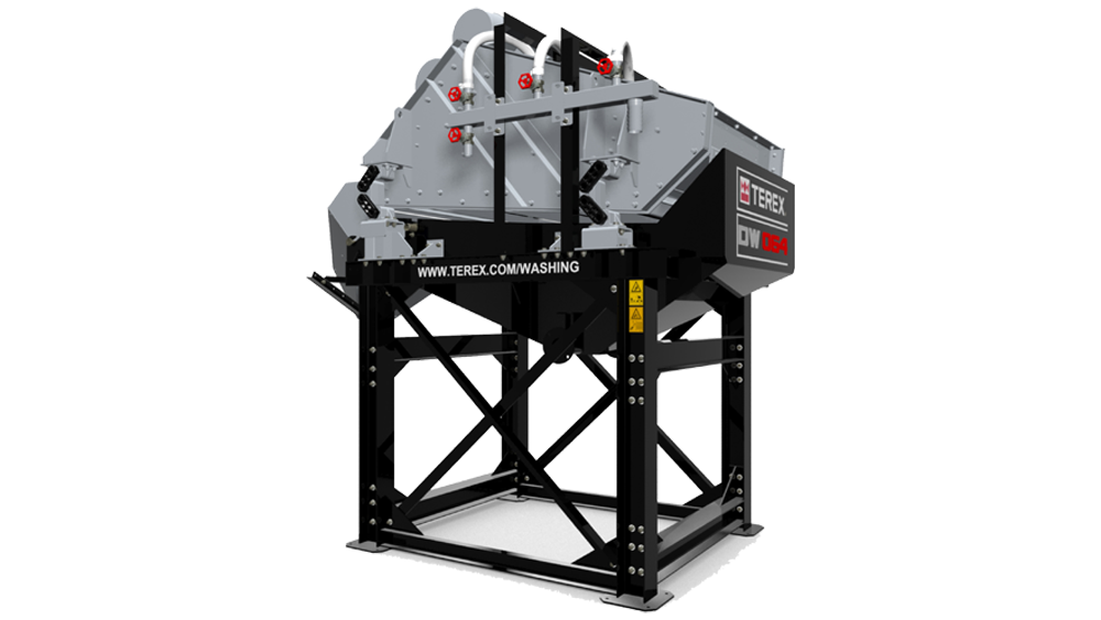vibrating dewatering screener