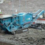 tracked jaw crusher