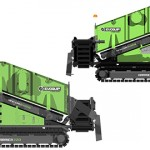 tracked screening plant