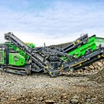 horizontal impact crusher